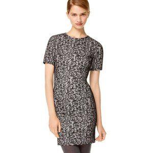 Wilfred Lace Black Shift Evening Dress Sz M